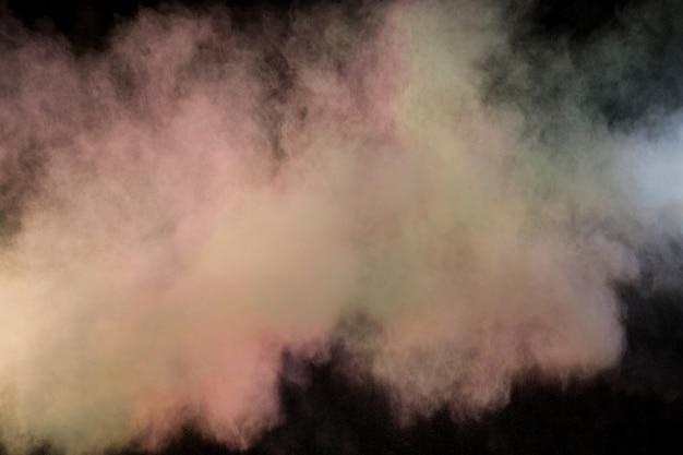 Spatten van kleur poeder Gratis Foto