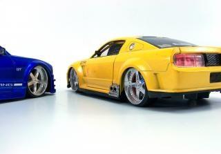 Speelgoedauto's, detail Gratis Foto