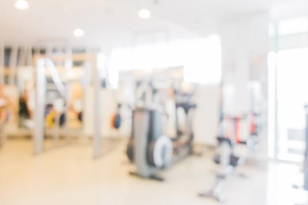 Sport en fitness wazig maken Gratis Foto
