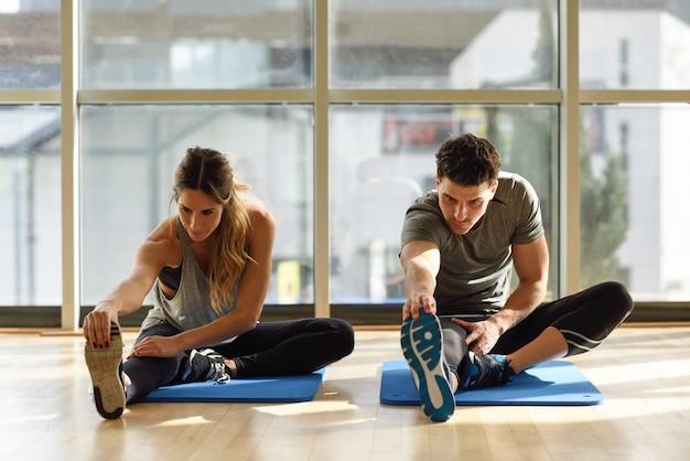 Sport levensstijl fitness mannelijke opleiding Gratis Foto