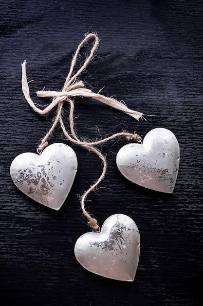 St valentines decoraties Premium Foto