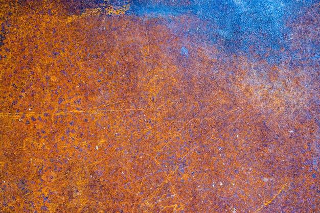 Staal roestig oud metaalblad, abstracte geweven achtergrond Premium Foto