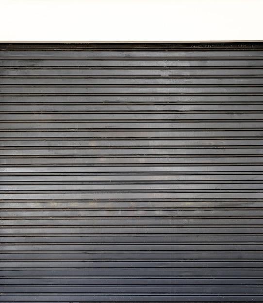 Stalen glanzende metalen muur achtergrond Premium Foto
