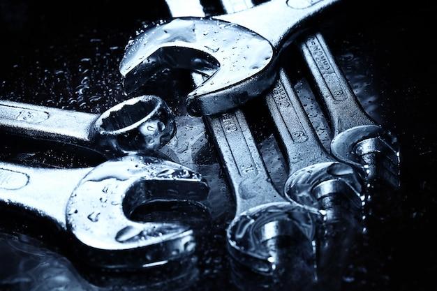 Stalen sleutels gereedschap Gratis Foto