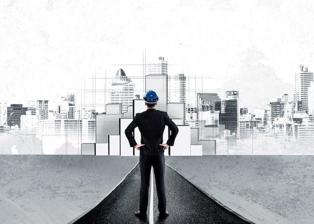 Stedenbouwkundige planning en vastgoedontwikkeling. Premium Foto