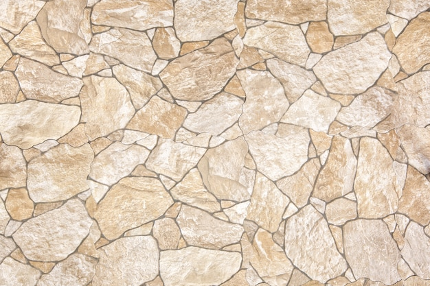 Stenen blok weg bestrating, straatsteen Premium Foto