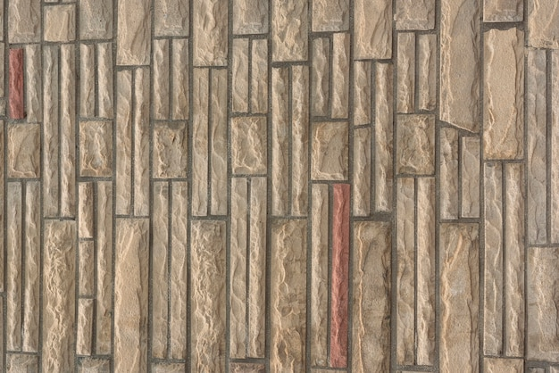 Stenen muur met ingewikkeld patroon Gratis Foto