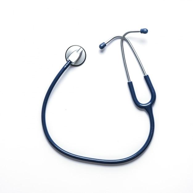 Stethoscoop om de hartslag te meten Gratis Foto