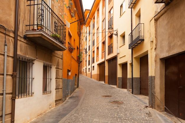Straat in de spaanse stad. teruel Gratis Foto