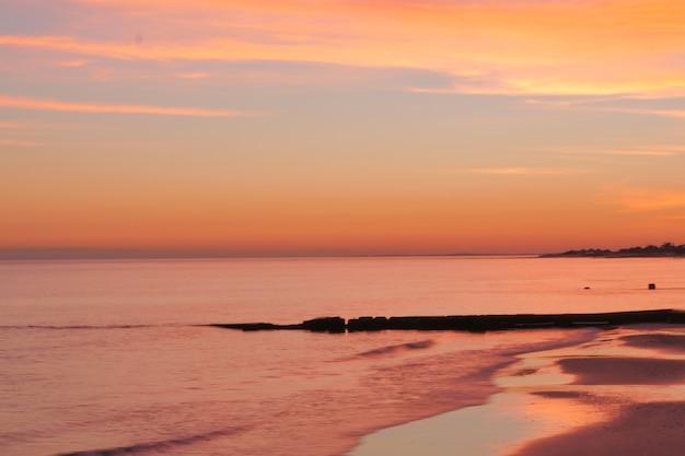 Strand achtergrond Premium Foto