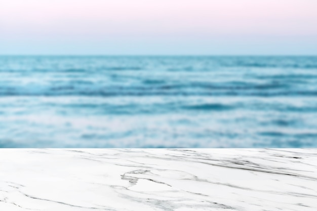 Strandproduct achtergrond Gratis Foto