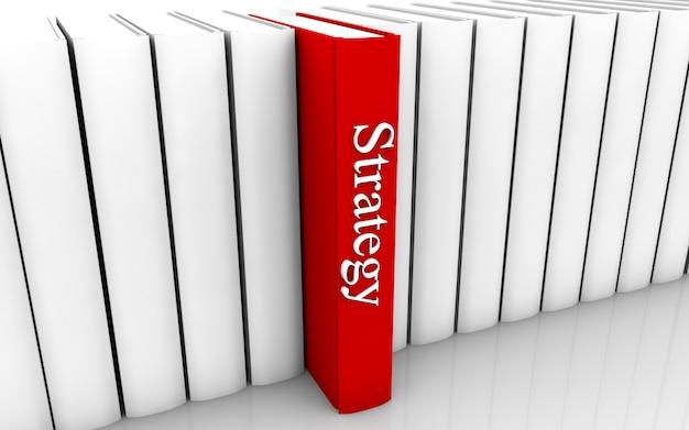 Strategieboek Premium Foto