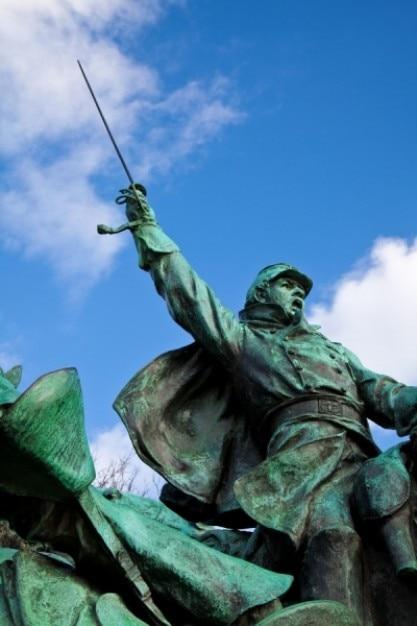 Subsidie cavalerie standbeeld Gratis Foto