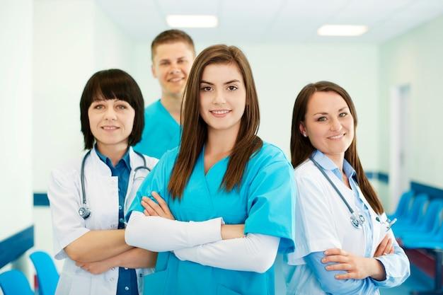 Succesvol medisch team Gratis Foto