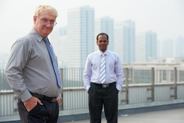 Succesvolle zakenmensen Gratis Foto