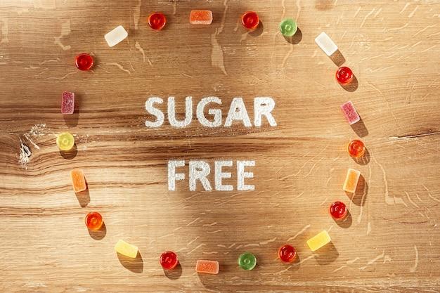 Suikervrije taarten. diëet voeding. Gratis Foto