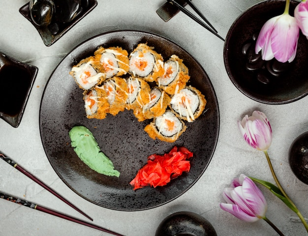 Sushi op de tafel Gratis Foto