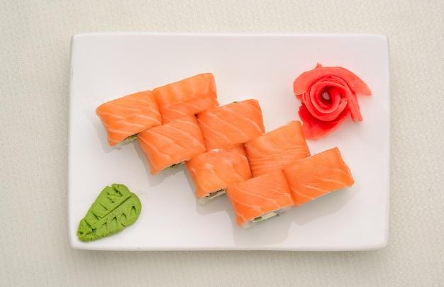 Sushi set, japans eten Premium Foto