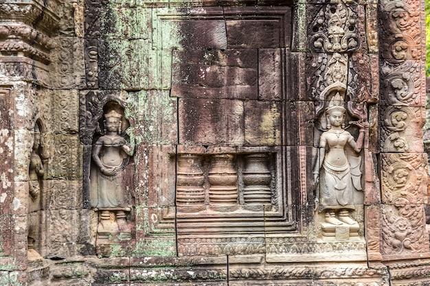 Ta som tempel in angkor wat in siem reap, cambodja Premium Foto