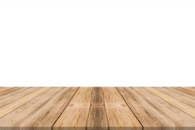 Tafel gemaakt met planken Gratis Foto