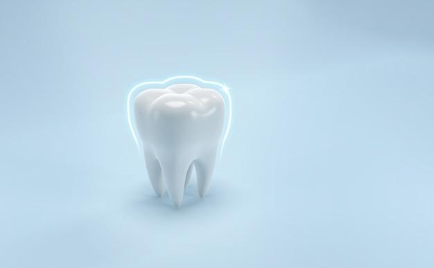 Tanden tandheelkundige zorg medische achtergrond Premium Foto