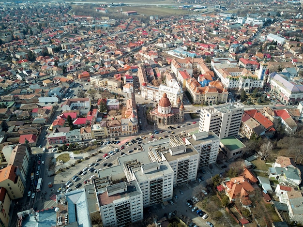 Targu mures stad Premium Foto