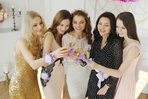 Team bruid Gratis Foto