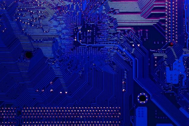 Technologie achtergrondstructuur Gratis Foto