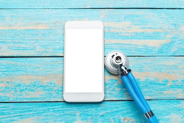 Telefoon reparatie en service concept. Premium Foto