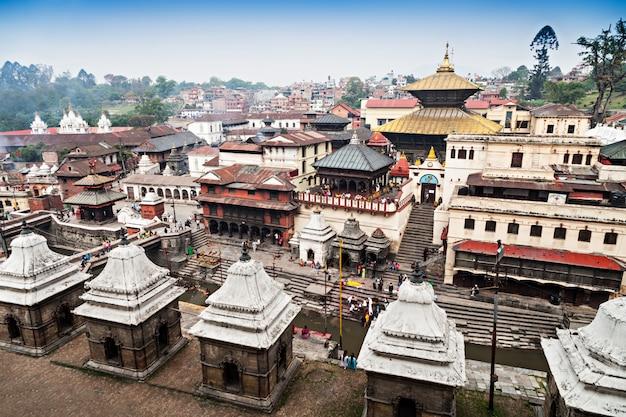 Tempel pashupatinath Premium Foto