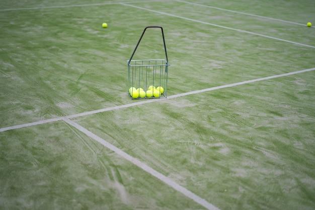 Tennisattributen, ballen Gratis Foto