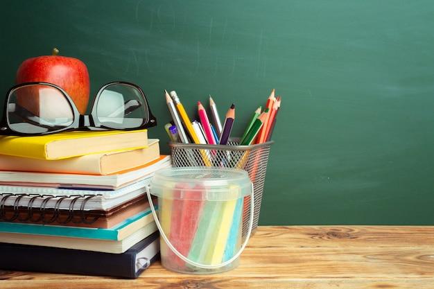 Terug naar school concept Premium Foto