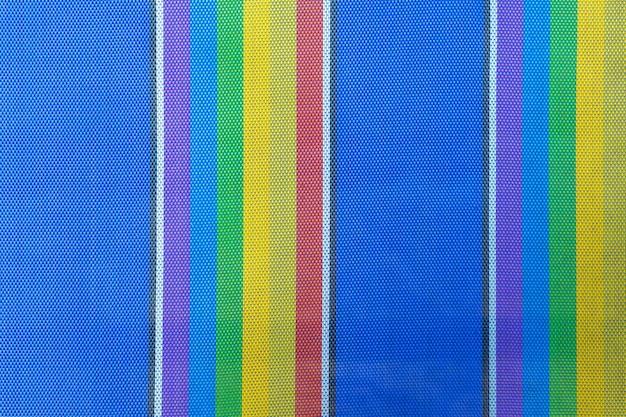 Texturen en kleuren van strandstoel voor de achtergrond. Premium Foto