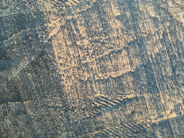 Textuur van abstracte kunst blauwe kleur als achtergrond. Premium Foto