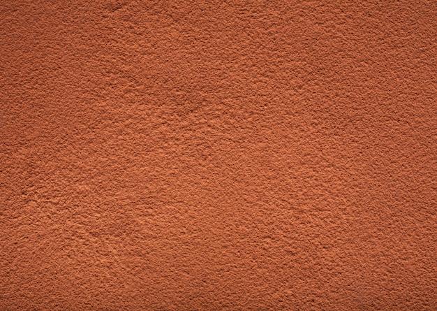 Textuur van cacaopoeder Premium Foto
