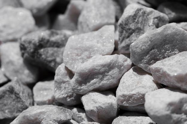 Textuur van dichte omhooggaande stenen Gratis Foto