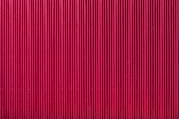 Textuur van golf donkerrood document, macro. Premium Foto