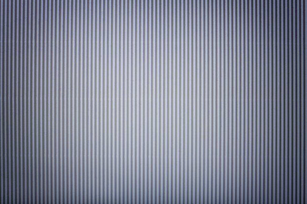 Textuur van golf zilveren document met vignet, macro. Premium Foto