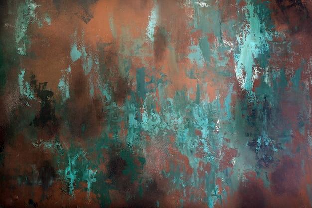 Textuur van roestige metaalachtergrond Premium Foto
