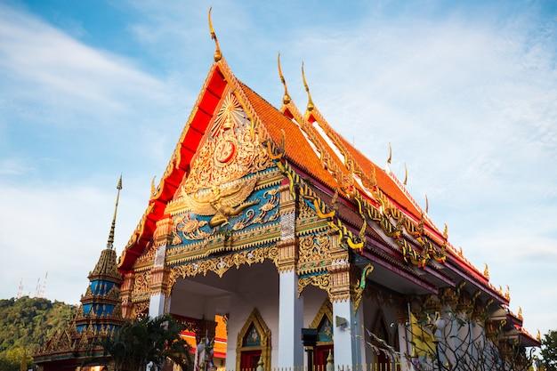 Thailand gouden tempel Premium Foto