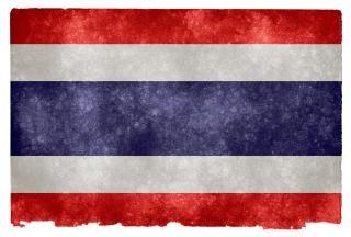 Thailand grunge vlag azië Gratis Foto