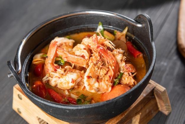 Thaise tom yum soep Gratis Foto