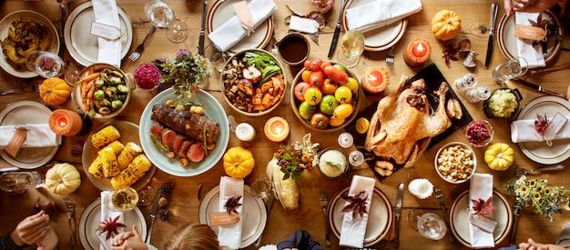 Thanksgiving-feest Premium Foto