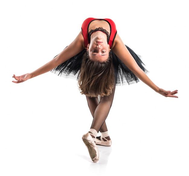 Tiener meisje ballerina danser Premium Foto