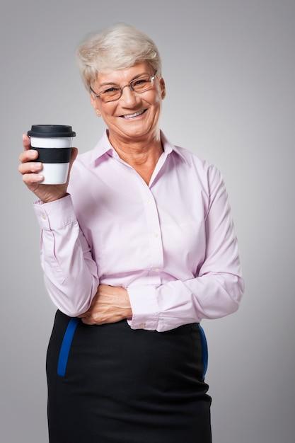 Tijd voor een langere koffiepauze Gratis Foto