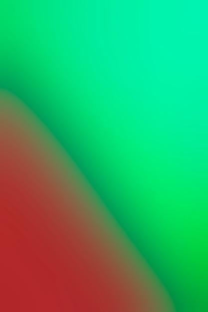 Tinten groen en rood mengen Gratis Foto