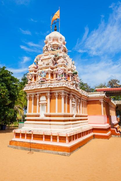 Tiruchendur murugan alayam-tempel Premium Foto