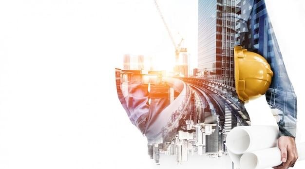 Toekomstig bouwtechnisch bouwproject Premium Foto