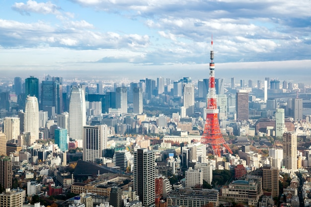 Tokyo toren Premium Foto