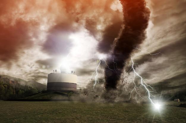 Tornado ramp Premium Foto